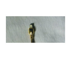 Golden iPhone USB