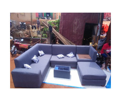 C-Shaped sofa