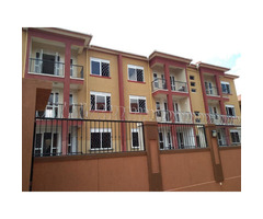 Class newly built 2 bedrooms apartment for rent in Ntinda