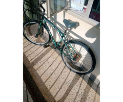Changer bicycle