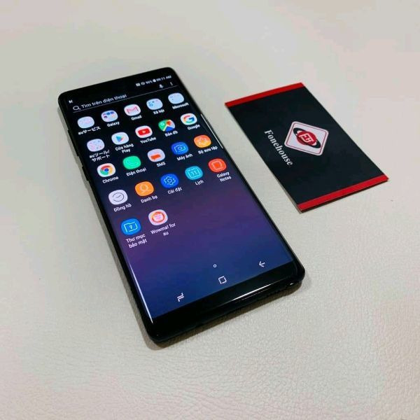 UK USED Samsung galaxy Note 8 with recipt and warranty - 1/4