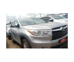 Toyota Kluger 2017 silver for sale
