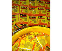 PMP Yellow sachets