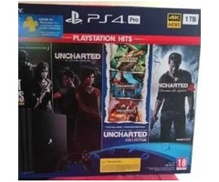 Ps4 pro 1TB  4 Games for sale