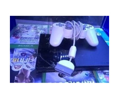 Ps2 chipped console with Games for sale