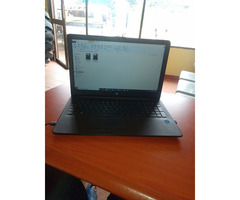 A second hand hp laptop used for only 4 months since it was picked from the shop.