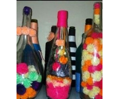 Decorated Bottles for sale