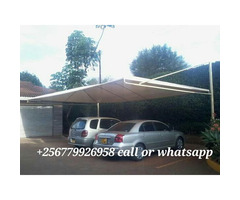 Car shade parking double cars waterproof and sunshine proof