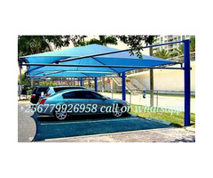 Car shade parking 3 cars waterproof and sunshine proof