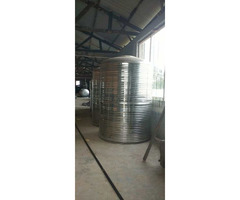 VC 155, 3200 Litres Stainless Steel Tanks