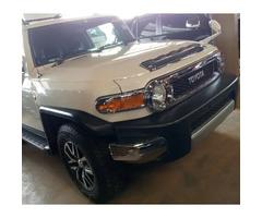 New Toyota FJ Cruiser 4x4 Automatic 2012 White for sale