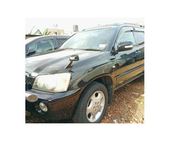Toyota Wish for Sale Model 2003 Black Uganda