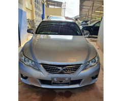 Toyota Mark X 2011 Silver for sale