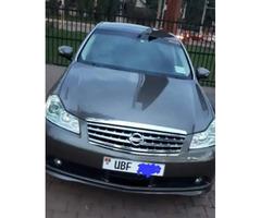 Nissan Fuga 2012 Black for sale