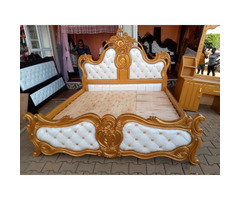 bed and the dressing mirror on sale