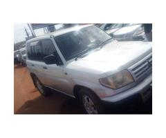 used Mitsubishi Pajero IO 1998model  White