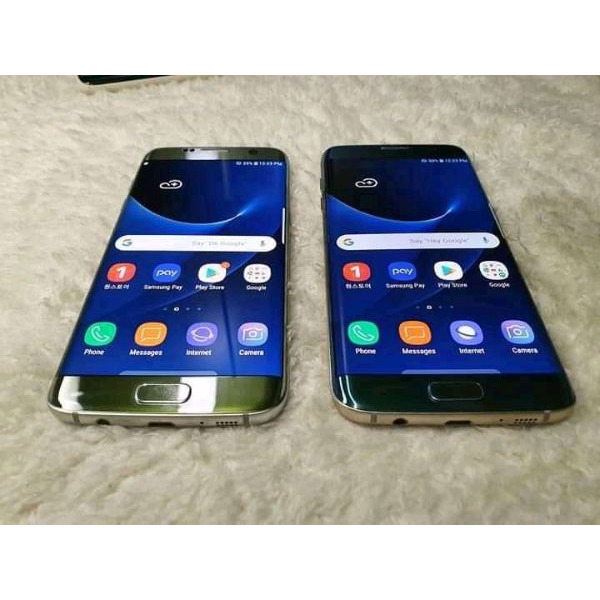 Samsung galaxy S7 edge Duos  uk used with recipt - 1/4