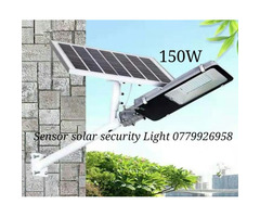 Outdoor sensor solar security Light