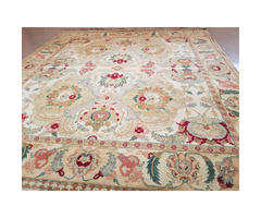 hand made Persian style rug 9*12