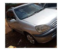 Toyota Raum 1988 Silver for sale
