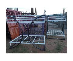 Metallic double decker 4*6