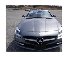 Mercedes-Benz SLK Class 2011 Silver for sale