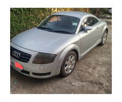 Audi TT 2003 1.8 Cabriolet Automatic Gray for sale