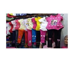 Children leggings and tops