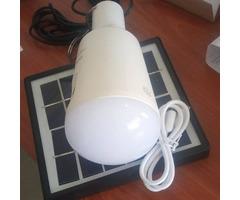 Solar led bulb banks