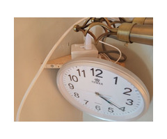 Clock with hidden camera
