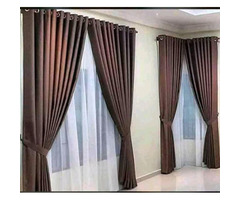 Curtain and curtain rods