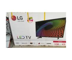 Brand New 43 Inches Led LG TV Flatscreen for sale
