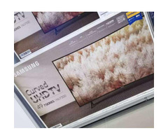 New 49' Curved Smart UHD 4k TV for sale