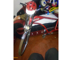 Chopper bike with a big tyre