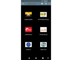 MTN an Airtel mobile money