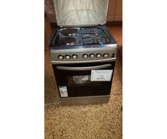 Super Chef  cooker 60x60cm 2plate power 2burners  gas gas power