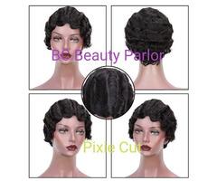 BC Pixie Cut 100% Human Hair Wig
