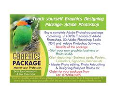 Teach youself Adobe Photoshop