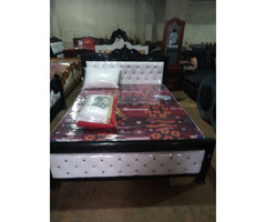 Nice 5by6 leather bed