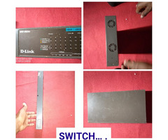 Router and switch