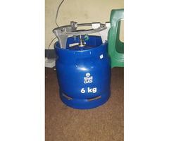 Shell gas 6kg( ready to use)