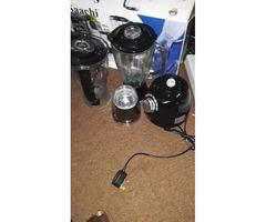 Saachi blender 3 in 1( black) brand new