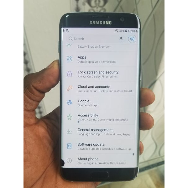 Galaxy  s7 edge dot 4gb ram 32gb - 2/3