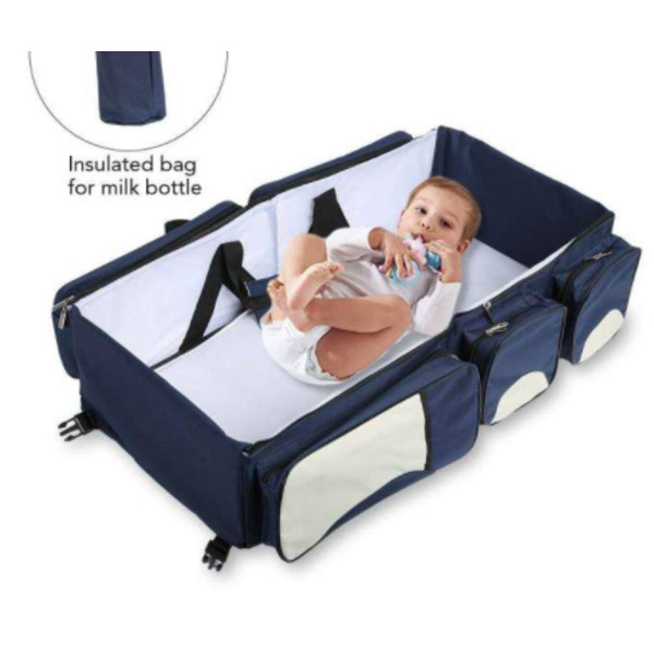 Baby Travel Bed And Bag. (3PC) for sale - 1/1