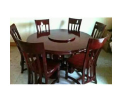 2H Modern Furniture UG (6seaters Brown Dinning Table ) for sale