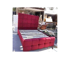 Leather bed classic