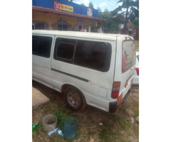 Toyota hiace van for hire