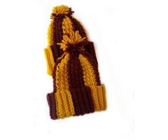 Crochet Kids hats with Pom pom