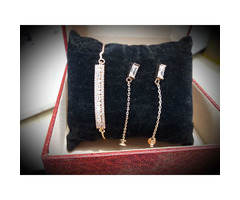 Jewellery set for valentines gift