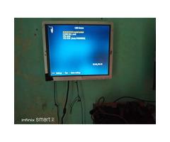 19 inch flat screen TV